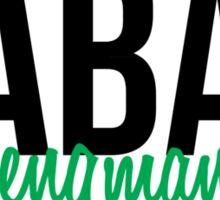 BABAR IS A LENGMAN Sticker