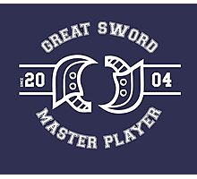 Great Sword - Monster Hunter Photographic Print
