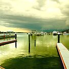 Lakes Entrance on a Stormy Afternoon by Loren Sh