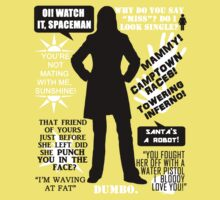 Doctor Who - Donna Noble Quotes Kids Clothes