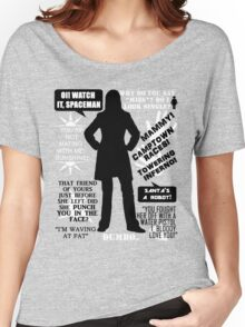 Doctor Who - Donna Noble Quotes Women's Relaxed Fit T-Shirt