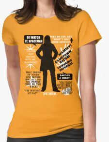 Doctor Who - Donna Noble Quotes Womens T-Shirt
