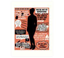Archer - Cheryl Tunt Quotes Art Print