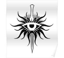 Dragon Age Inquisition Symbol Poster