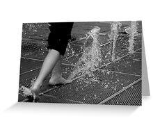 Uprising Water Greeting Card