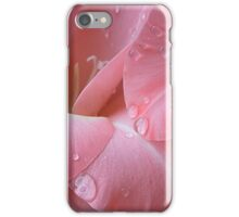 Decorated with droplets iPhone Case/Skin