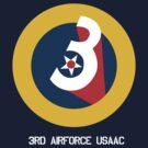 3rd Airforce Emblem by warbirdwear