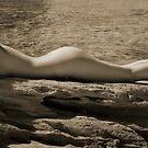 Sacrifice stone table by Gerard Rotse