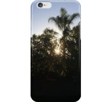 trees covering the shining sun iPhone Case/Skin