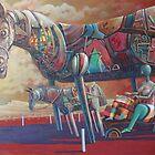 horses by Valeriu Buev