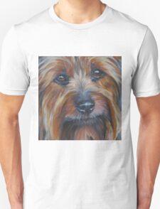 Silky Terrier Fine Art Painting T-Shirt