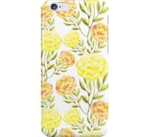 Peony. Delicate nature background. iPhone Case/Skin