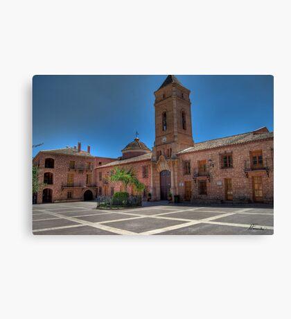 La Plaza Canvas Print