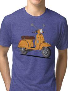 Vespa PX 150 Orange Tri-blend T-Shirt