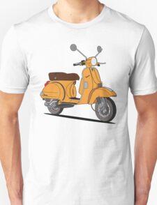 Vespa PX 150 Orange Unisex T-Shirt