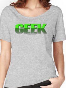 Geek (green) Women's Relaxed Fit T-Shirt