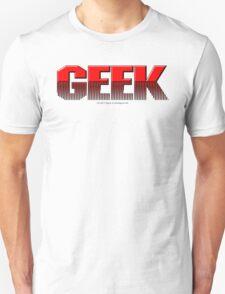 Geek (red) Unisex T-Shirt