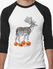 My Deer M&Ms Men's Baseball ¾ T-Shirt
