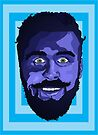 Portrait in Blue - Bubbler Zach Woomer by Jellyscuds