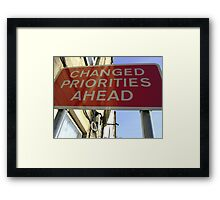 2010 New Year's Resolution Framed Print