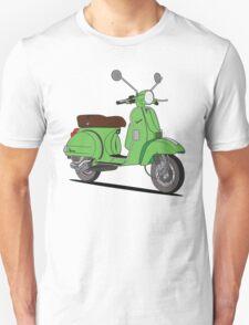 Vespa PX Green Unisex T-Shirt