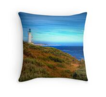 Point Lonsdale Lighthouse - Port Phillip Heads Marine National Park Throw Pillow