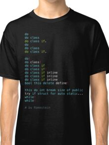Du Hast Classic T-Shirt