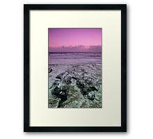 Morning at Alexandra Headlands 2 Framed Print