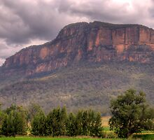 Strength - Capertee Valley, NSW Australia - The HDR Experience by Philip Johnson
