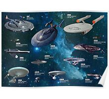 Star Trek Enterpries (All) Poster