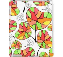 Leaves. Multi-colored leaf. iPad Case/Skin