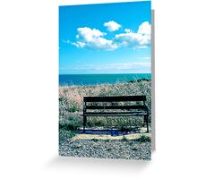 Empty Seat Greeting Card
