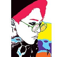 Gdragon Black Out Photographic Print
