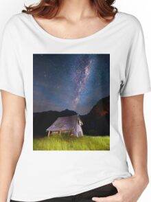The barn at the end of the universe Women's Relaxed Fit T-Shirt