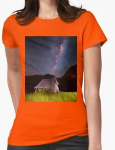 The barn at the end of the universe Womens Fitted T-Shirt