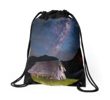 The barn at the end of the universe Drawstring Bag