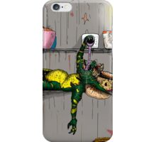 Gremlin in the fridge iPhone Case/Skin