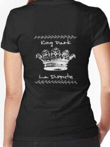 King Park Women's Fitted V-Neck T-Shirt