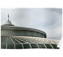 Kibble Palace at the Botanic Gardens in Glasgow, Scotland Poster