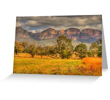 Big Valley - Capertee Valley, Australia - The HDR Experience Greeting Card