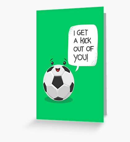 Tough Love! Greeting Card