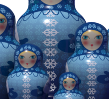 From Russia with love! Matryoshka Sticker