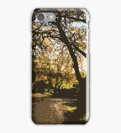 nature's alleyway vector iPhone Case/Skin
