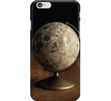 Moon Globe Still Life iPhone Case/Skin