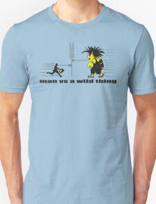 man vs a wild thing Unisex T-Shirt