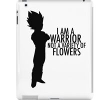 Vegeta - Not a Variety of Flowers iPad Case/Skin