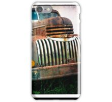 Old Rusty Chevy Truck iPhone Case/Skin