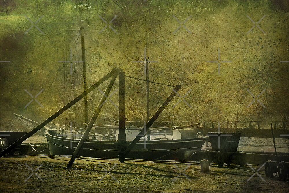 Morwelham Tall Ship by Catherine Hamilton-Veal  ©