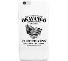 Okavango Zebras iPhone Case/Skin