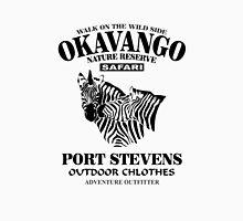 Okavango Zebras Womens Fitted T-Shirt